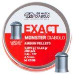 Кулі JSB Monster Exact Diabolo 0,87 гр - 200 шт.